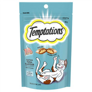 5 PACK of Temptations Cat Treats Tempting Tuna 85g