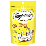 5 PACK of Temptations Cat Treats Tasty Chicken 85g