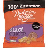 5 PACK of Buderim Ginger Glace 125g