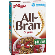 5 PACK of Kellogg's All-bran High Fibre Breakfast Cereal 350g