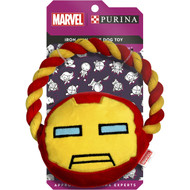 5 PACK of Purina Marvel Iron Man Rope Pet Toy