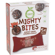 5 PACK of Macro Mighty Bites Cheeky Cocoa Balls 5 pack