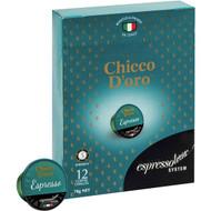 5 PACK of Espressotoria Chicco D'oro Espresso Coffee Capsules 12 pack
