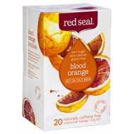 5 PACK of Red Seal Blood Orange Hot Or Cold Brew Tea 20 pack