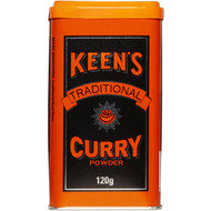 5 PACK of Keens Curry Powder 120g