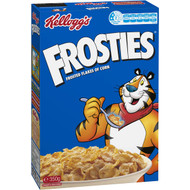 5 PACK of Kellogg's Frosties Breakfast Cereal 350g