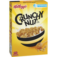 5 PACK of Kellogg's Crunchy Nut Corn Flakes Breakfast Cereal 380g