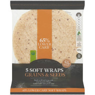 5 PACK of WW Lower Carb Seeded Wrap 5 pack