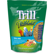 5 PACK of Trill Food Pellets Small Birds 600g