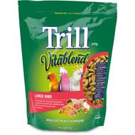 5 PACK of Trill Food Pellets Large Birds 600g