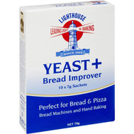 5 PACK of Lighthouse Yeast Bread Improver 10x7g