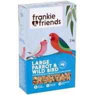 5 PACK of Frankie & Friends Large Parrot & Wildbird Bird Seed Mix 2kg