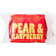 5 PACK of Country Chef Pear & Raspberry Loaf Slices 5 pack