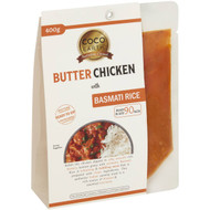 5 PACK of Coco Earth Butter Chicken With Basmati Rice 400g