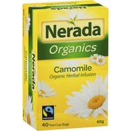 5 PACK of Nerada Organic Camomile Tea Bags 40 pack