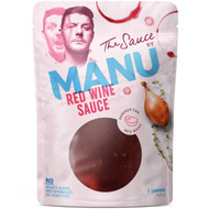 5 PACK of The Sauce By Manu Red Wine  150g
