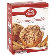5 PACK of Betty Crocker Cinnamon Crumble Muffin Mix 500g