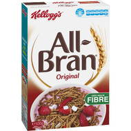 5 PACK of Kellogg's All-bran High Fibre Breakfast Cereal 530g