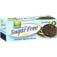 5 PACK of Gullon Sugar Free Digestives Chocolate