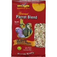 5 PACK of Bird Munchies Bird Food Gourmet Blend Parrot 1kg