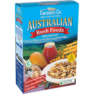 5 PACK of Farmers Co. Bush Foods Breakfast Cereal 500g