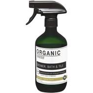 5 PACK of Organic Choice Shower Bath & Tile Cleaner Spearmint & Tasman Pepper 500ml