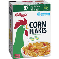 5 PACK of Kellogg's Corn Flakes Breakfast Cereal Value Pack 920g
