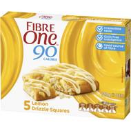 5 PACK of Fibre One Lemon Drizzle Squares 5 pack
