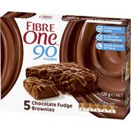 5 PACK of Fibre One Chocolate Fudge Brownies 5 pack