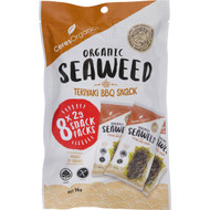 5 PACK of Ceres Organics Teriyaki Bbq Snack 8 pack
