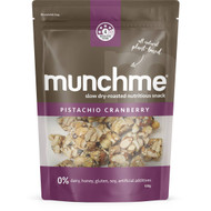 5 PACK of Munchme Pistachio Cranberry  120g