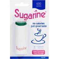 5 PACK of Sugarine Sweetener Tablets  600 pack
