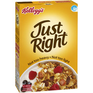 5 PACK of Kellogg's Just Right Apricot & Sultana Cereal 460g