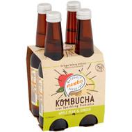 5 PACK of Nexba Apple Pear & Ginger Kombucha Sugar Free 4x330ml