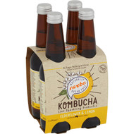 5 PACK of Nexba Elderflower & Lemon Kombucha 4x330ml