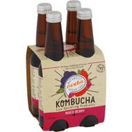 5 PACK of Nexba Mixed Berry Kombucha 4x330ml