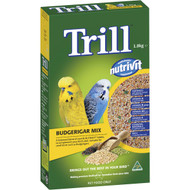5 PACK of Trill Budgie Mix 1.8kg