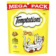 5 PACK of Temptations Cat Treats Tasty Chicken 180g