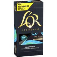 5 PACK of L'or Espresso Papua Coffee Capsule 10 pack