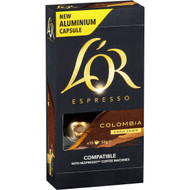 5 PACK of L'or Espresso Colombia Coffee Capsule 10 pack