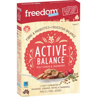 5 PACK of Freedom Foods Cereal Multigrain & Cranberry 350g