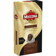 5 PACK of Moccona Espresso 10 Coffee Capsules 10 pack