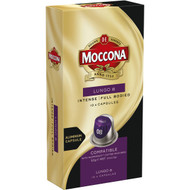 5 PACK of Moccona Lungo 8 Coffee Capsules 10 pack