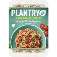 5 PACK of Plantry Plant Based Food Spaghetti Bolognese 350g