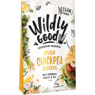 5 PACK of Wildly Good Spiced Chickpea Burgers  250g
