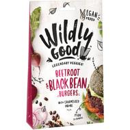 5 PACK of Wildly Good Beetroot & Black Bean Burgers? 250g