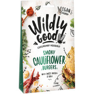 5 PACK of Wildly Good Smoky Cauliflower Burger  250g