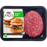 3 PACK OF K-roo Kangaroo Burger 440g