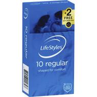 3 PACK OF Lifestyles Condoms Regular 10 pack