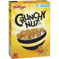 3 PACK OF Kellogg's Crunchy Nut Cornflakes Breakfast Cereal 670g